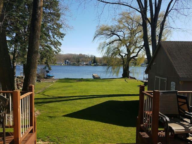 Lake property close to Erin Hills - Hubertus - Dům
