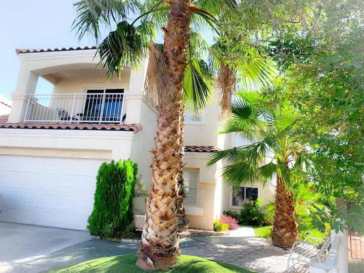 Stay in Vegas in a remodeled and sanitized home!