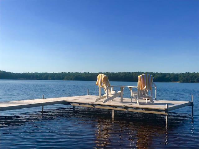 Sunfish Cottage on Duck Lake
