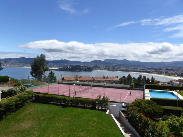 Chalet nuevo playa, tenis piscina - Baiona - House