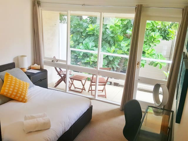 Canopy Room in Peaceful Home, 5min to Hyde Park