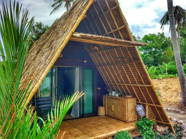 Seaview A-frame ECO Bungalow