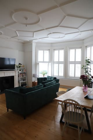 Beautiful Edwardian ground floor flat