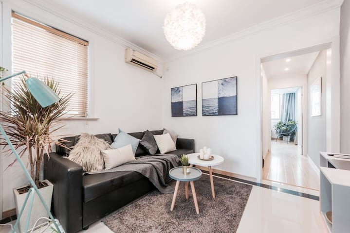 【Original】warm house with 2 bed rooms near FFC