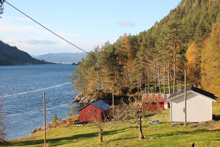 Nice cottage - Hamnesfjorden