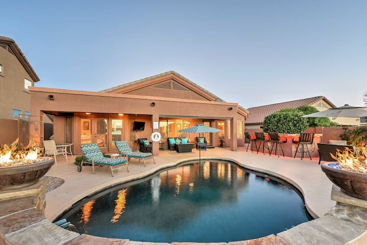 Goodyear Home w/ Outdoor Oasis and Mountain Views!