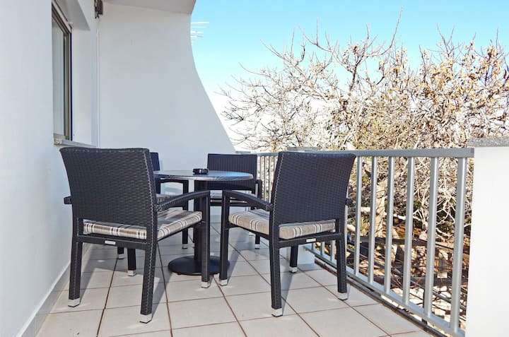 Two Bedroom Apartment, in Pag - island Pag, Terrace