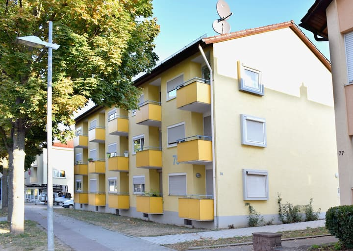Stilvolle Apartment-Einheiten in guter Lage