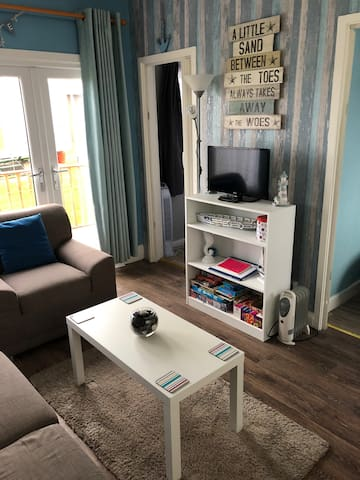 Two bedroom pet friendly chalet for rent