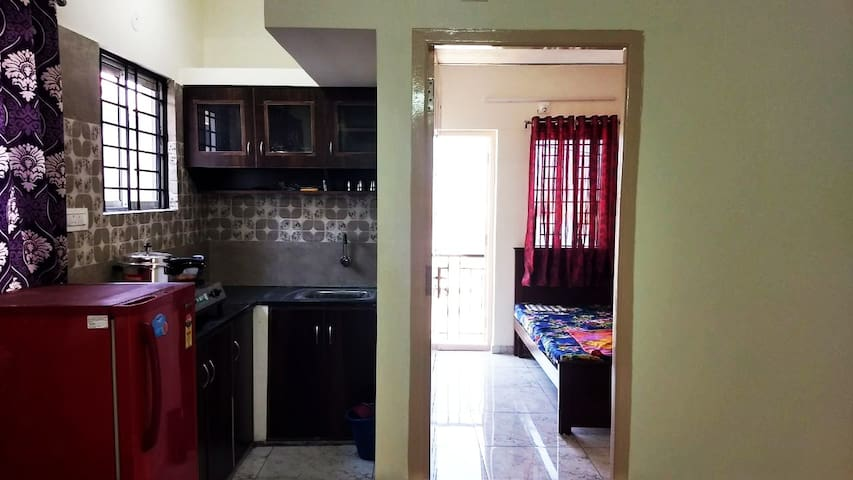 1BHK FURNISHED FLAT AVAILABLE NEAR ELECTRONIC CITY