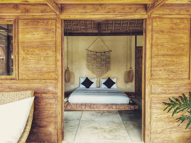 Splendid Eco Boho Suite Bathtub/ 350m Bingin Beach