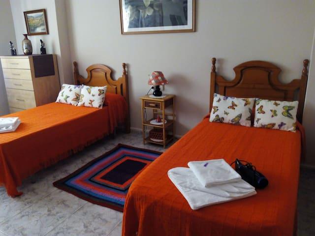 Habitacíon grande con cama doble - Huelva - Appartement
