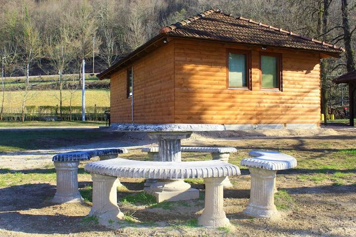 Odmaralište Topole, mjesto uz rijeku Unu