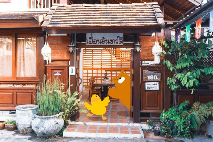 Lanna-Style House in Chiang Rai city