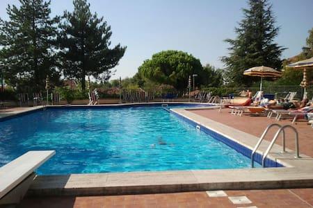 Appartamento giardino uso piscina - Gabicce Monte - 公寓