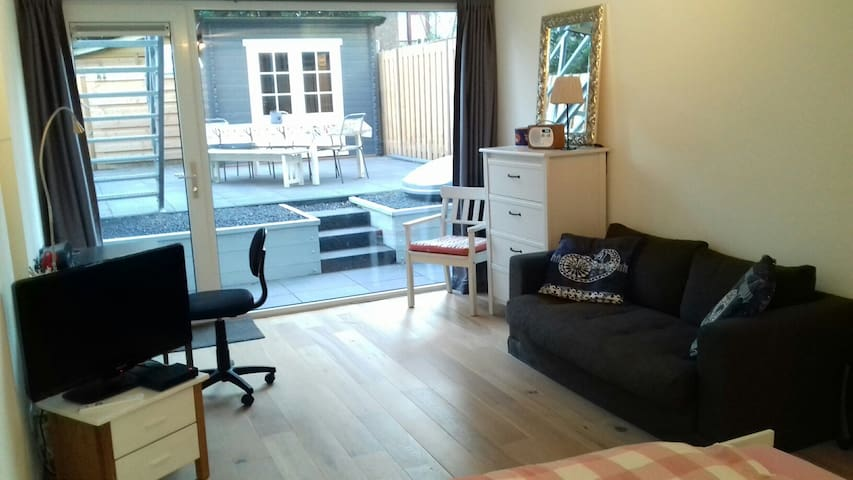 New room/studio near Amsterdam/Utrecht, lake area - Hilversum - Appartamento