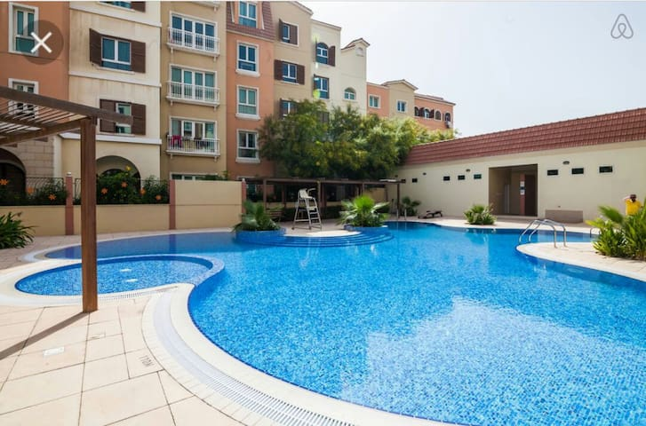 Luxury studio  discovery gardens.cheapest in area.