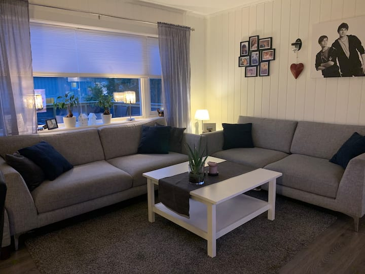 Cozy apartment close to the center og Bodø