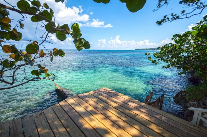 1 BR Garden Cottage with Ocean Access, Jamaica