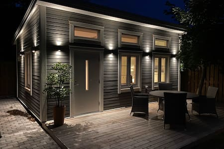 Trelleborgs Tiny House Central Private Garden