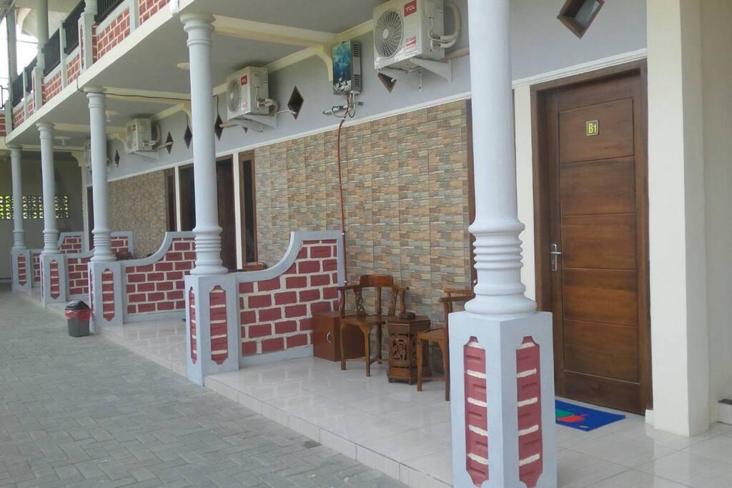 Balkon & Koridor Luas