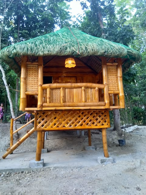 A Deluxe Bamboo House by the Riverside
