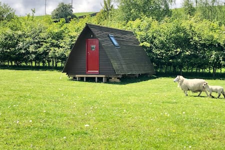 Glamping Pod on tranquil Farm near Lake District.