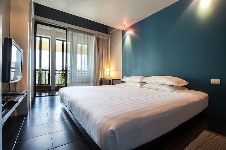 Loog Choob Homestay: Cozy room #402 - Bangkok - Haus