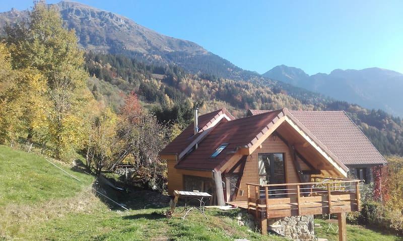 Maison / chalet au cœur des Alpes grenobloises