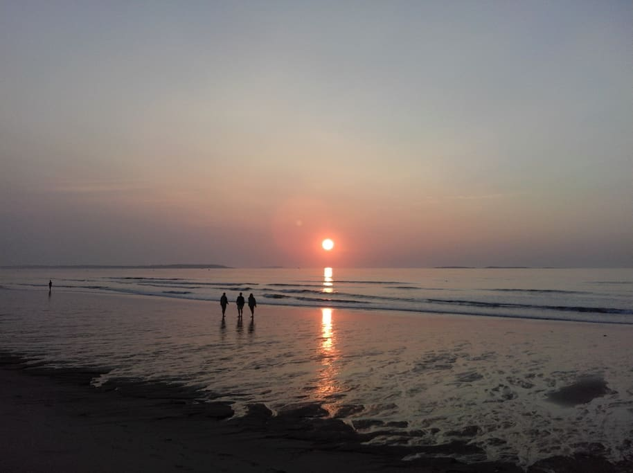 Sunrise at OOB