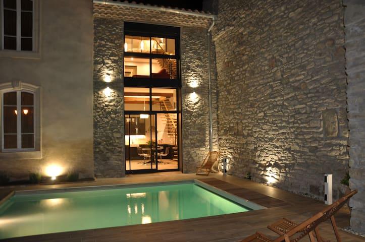 Superbe gîte en Minervois - confort & raffinement - Pépieux - Huis