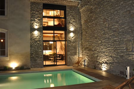 Adorable gite & piscine dans village du Minervois. - House