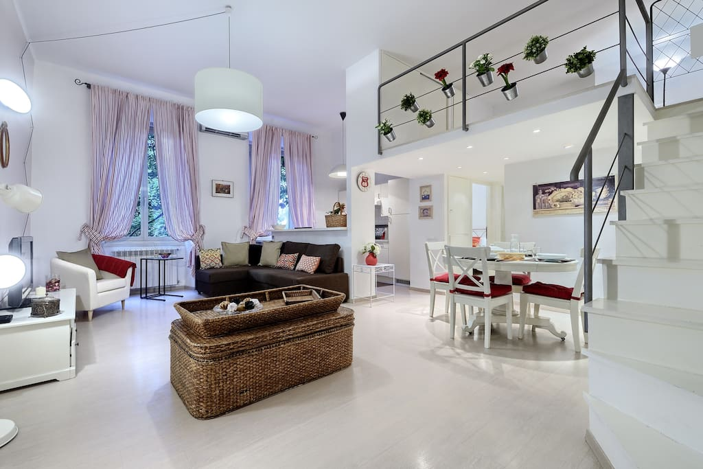 Tibullo apartment st peter 600 m from metro stop for Affitto della cabina nello stato di washington