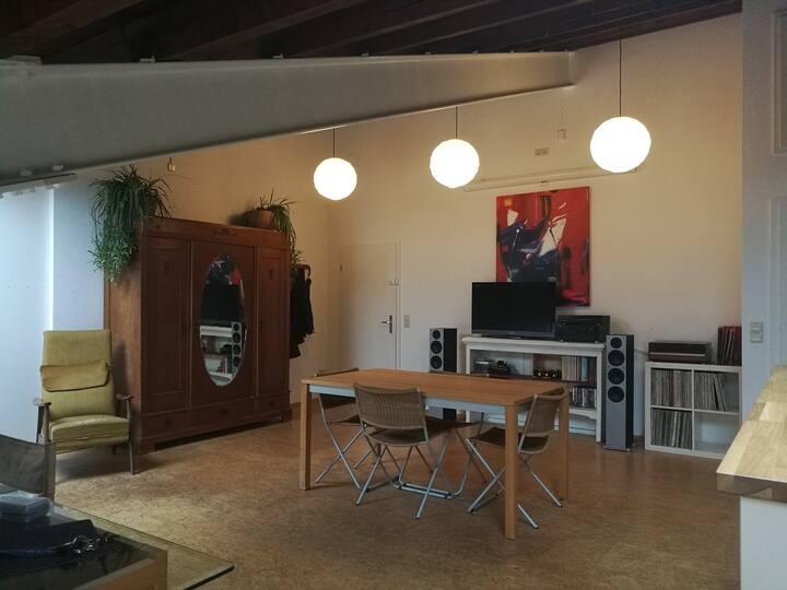 Charmante Loft-Wohnung