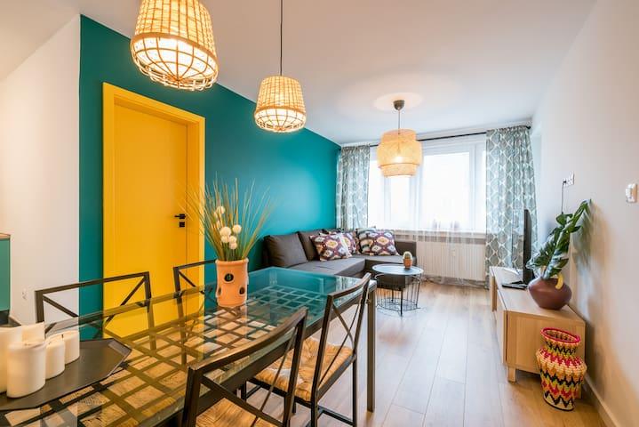 3-Pokojowy Przytulny Apartament 50 metrów od Rynku