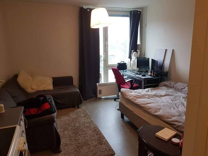 Lägenhet i city