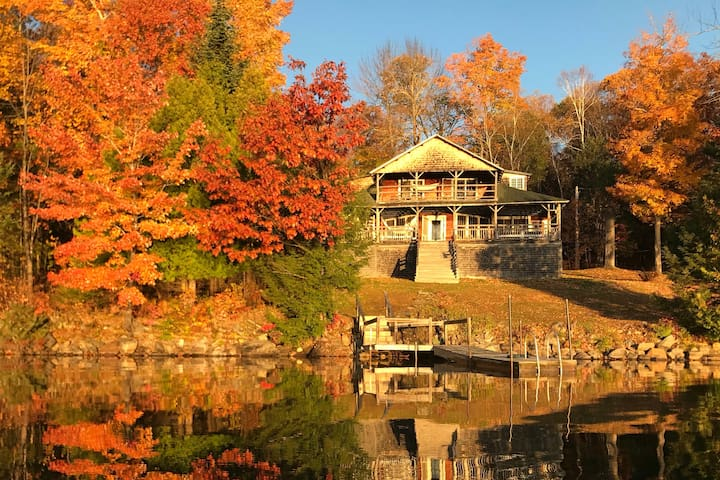 Camp Liberty on Clearwater Lake: Half-house rental