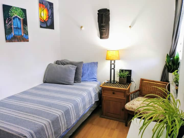 SUPER SAVER - Small & Private Room Close to All!