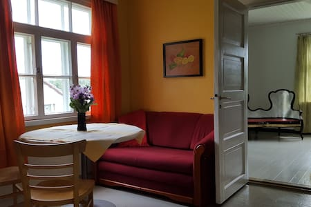 Wooden house near center, Welcome! - Imatra - Apartament