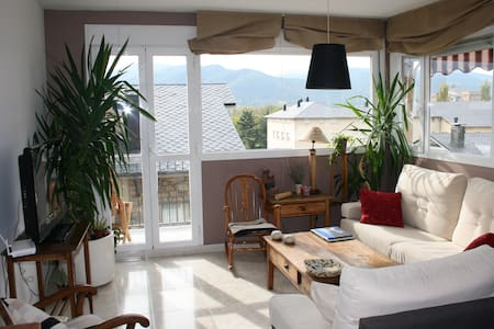 Comfy 2 floor attic with views - La Seu d'Urgell