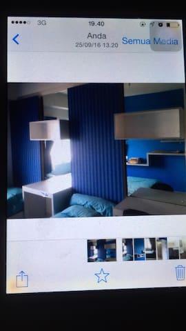Ponewood apartment 2643/studio - Sumedang - Huoneisto