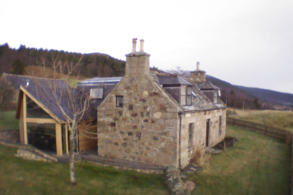 Outside View from the Front