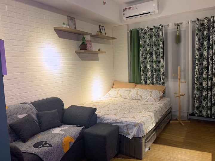 One bedroom studio unit in Taguig City (brandnew)
