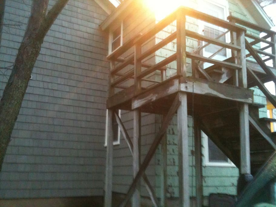 Exterior Staircase to entrance