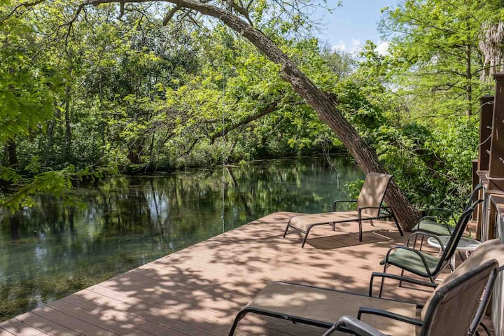 San Marcos River House