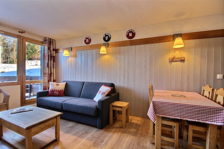 Rated 3 stars apartment, close to slopes and shops