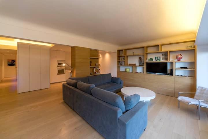 Appartement spacieux sur la digue du Zoute