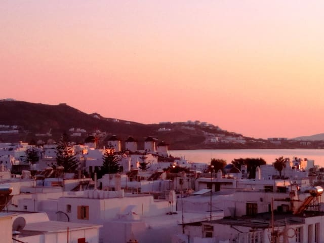 Great view apartment in the heart of Mykonos town - Mikonos - Apartamento