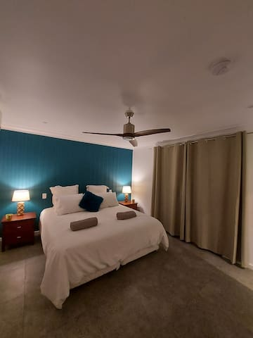 Relax in this comfortable King bed. We can separate this bed to offer two singles if that is your preference. Just let us know at the time of your booking.