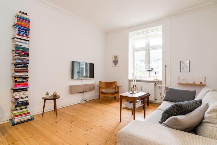Unique flat and next to Metro! - Frederiksberg - Apartment